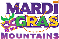 Mardi Gras in the Mountains Logo